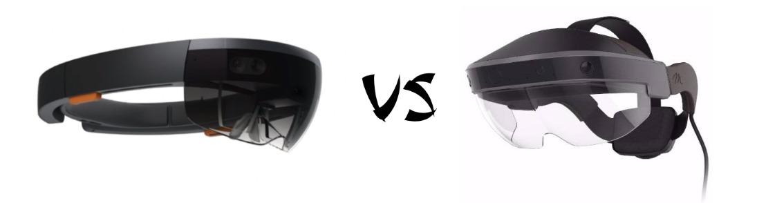 HoloLens vs Meta2